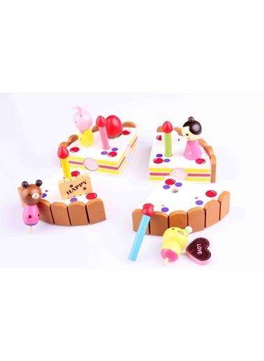 Ahşap Dekoratif Kek Seti-Learning Toys